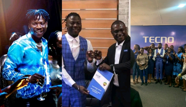 Techno Mobile Ghana signs Stonebwoy as Brand Ambassador