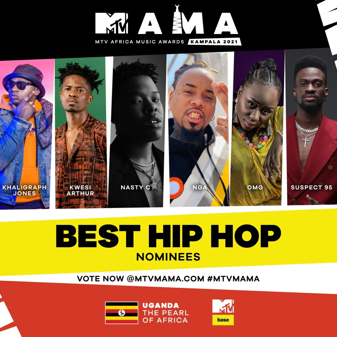 MTV MAMA 2021 Kwesi Arthur Best Hip Hop Act