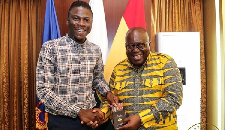 Stonebwoy congratulates Akufo-Addo