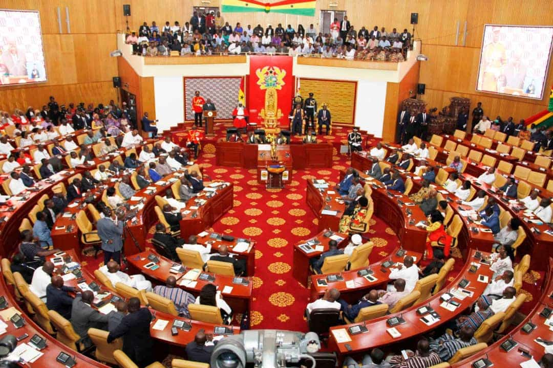 NPP caucus takes early seats at Majority side