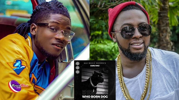 Kuami Eugene Drops First Reaction After Guru Punched Him In A Diss Song