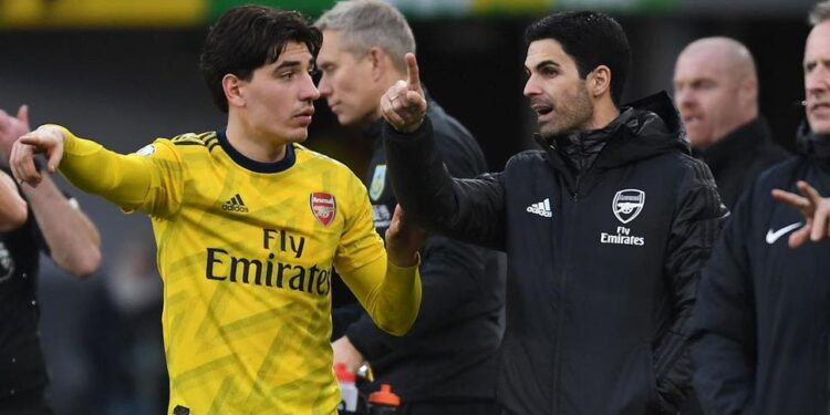 Hector Bellerin Arsenal Mikel Arteta