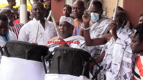 Gbese Mantse lifts ban on noisemaking