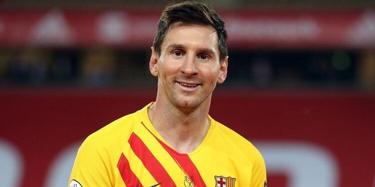 Lionel Messi wins Barcelona's Goal Of The Season