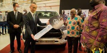 President Akufo-Addo Commissions Toyota & Suzuki Vehicle Assembly Plant