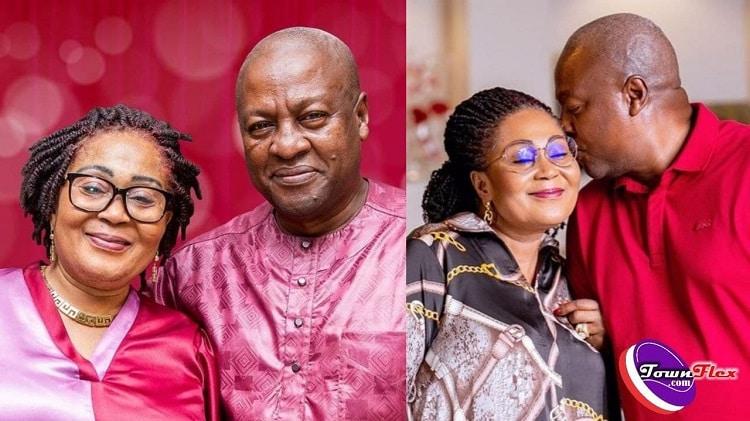 John & Lordina Mahama Marks 29th Wedding Anniversary With Lovely Photos