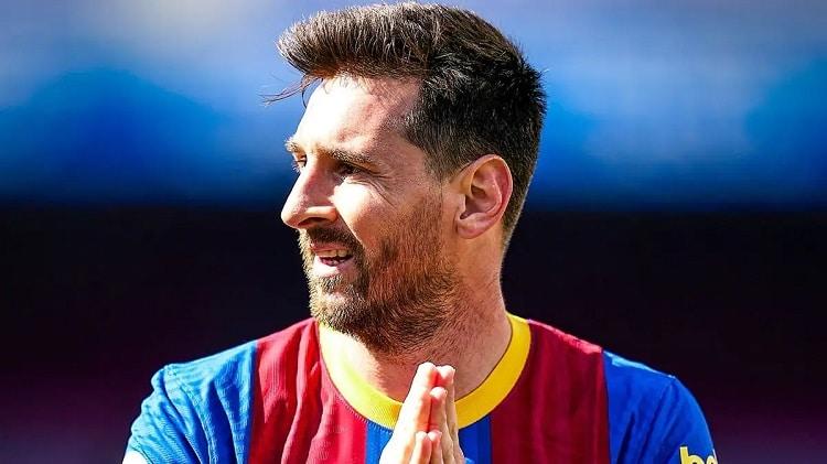 Barcelona Ban Messi