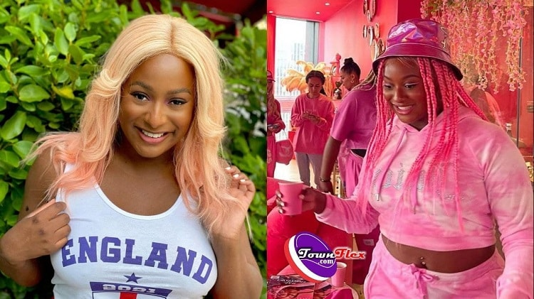 DJ Cuppy's reaction after a fan told her she added weight
