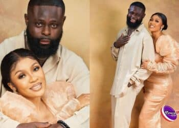 """""""You still look like a virgin"""" – Celebrity stylist, Yomi Casual and wife celebrate wedding anniversary"""